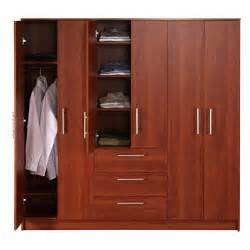 Wooden Cupboard For Clothes Wooden Closets For Clothes Designs Decosee