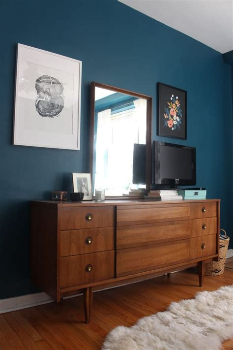 blue bedroom dark furniture best 25 mid century dresser ideas on pinterest mid