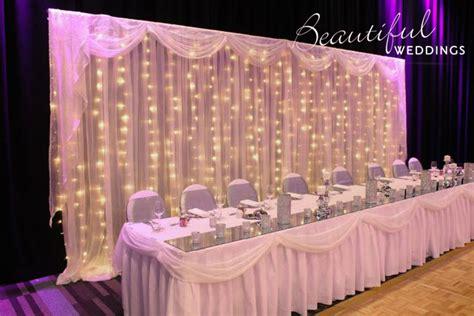 bridal table backdrops signs beautiful weddings