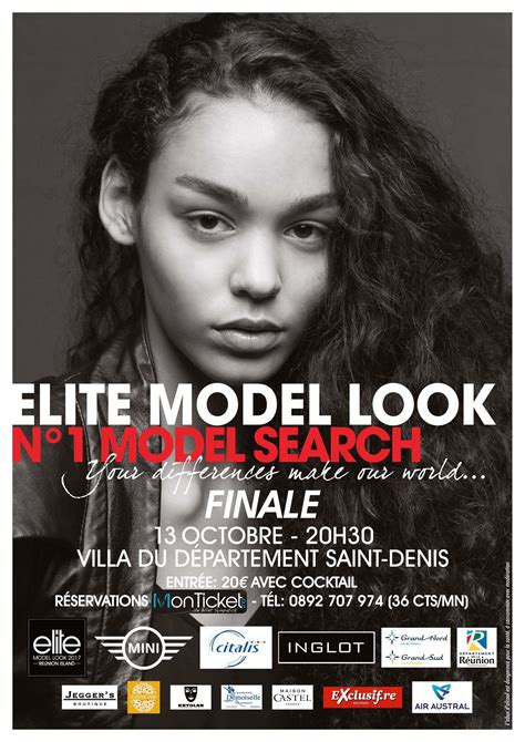 Elite Model Look 2018 Inscription