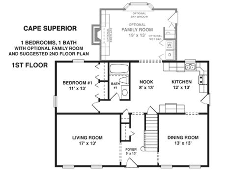 cape cod floor plans modular home cape cod modular homes floor plans