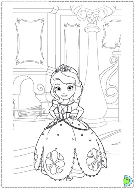 Sofia The First Coloring Pages Sofia The First Coloring Sofia The Coloring Pages