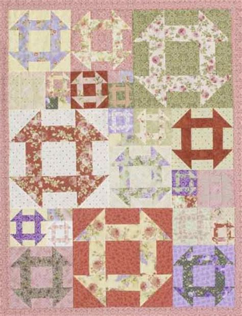American Patchwork Quilts - color options from american patchwork quilting february