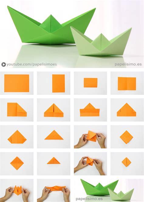 origami boat anleitung barco de papel paso a paso origami paper boat papelisimo