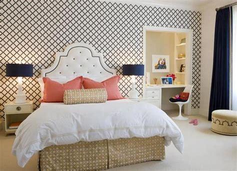 fancy bedroom wallpaper 15 captivating bedrooms with geometric wallpaper ideas
