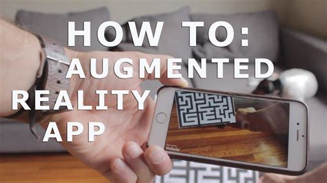 tutorial unity augmented reality how to augmented reality app tutorial for beginners with