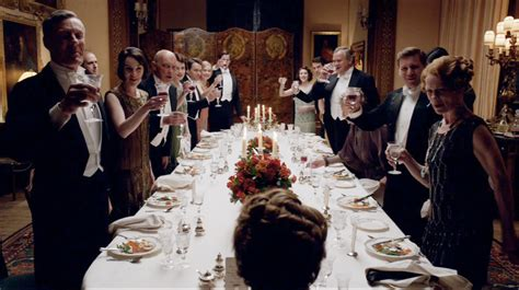 downton dinner downton abbey recap season five episode seven
