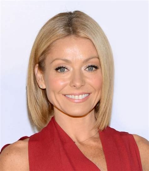is kelly ripas bob all one length kelly ripa s top 10 greatest haircuts hairstylec