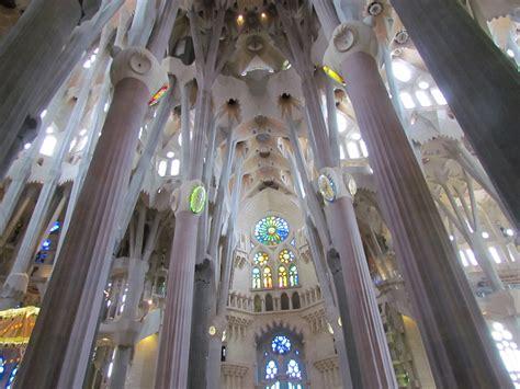 Interior Sagrada Familia by La Sagrada Familia Interior
