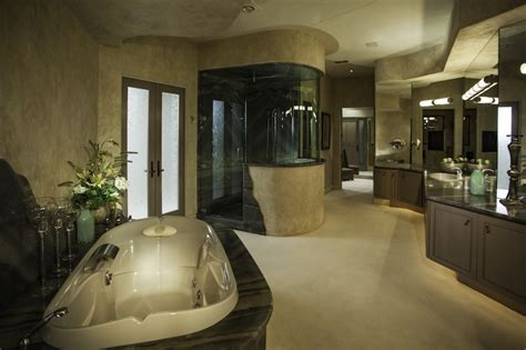 million dollar bathroom designs million dollar master bathrooms in houses off the plush master suite with fireplace
