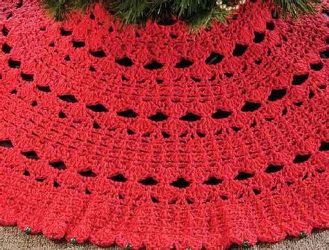 christmas tree skirt crochet pattern 4 00 via etsy diy