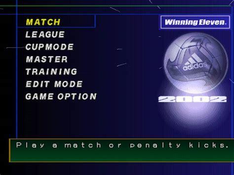 winning eleven 2002 world soccer winning eleven 2002 user screenshot 5 for