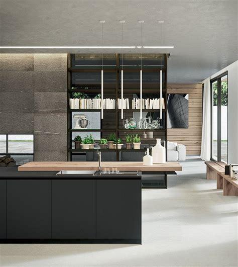 cuisine avec bar am駻icain cuisine moderne belles id 233 es pour votre espace par arrital
