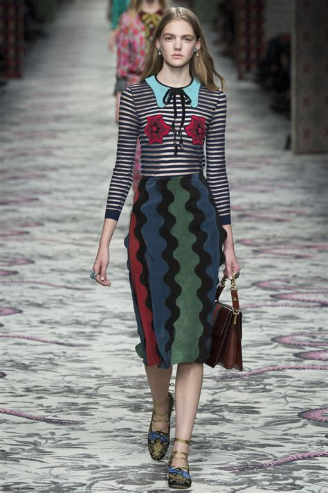 Dress Gucci Wangky Babyterry 16 Show Review Gucci Ready To Wear 2016 Fashion