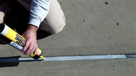 Patio Grout Resin Concrete Expansion Joints Part 2 Apply New Watertight