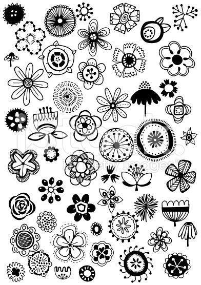 flower doodle free mail kathy garrett outlook doodles flowers