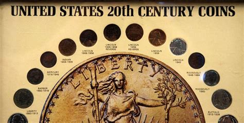 20th Century Coins Framed by United States 20th Century Framed Coin Collection
