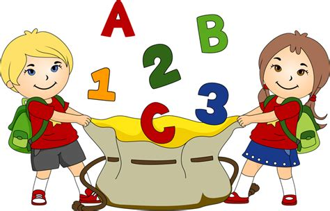 The Gallery For Gt Preschool Background Png by Free Kindergarten Clip Pictures Clipartix