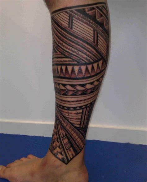 tribal thigh tattoos 26 fascinating tribal leg tattoos only tribal