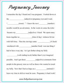 baby shower mad libs template pregnancy mad lib construction baby shower