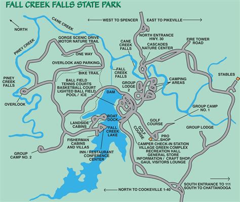 creek state park trail map fall creek falls state park tennessee planned spontaneity