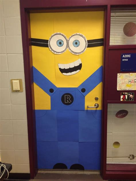 minion office my despicable me minion office door pto