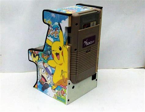 gameboy arcade mod mini arcade shaped gameboy mod gadgetsin