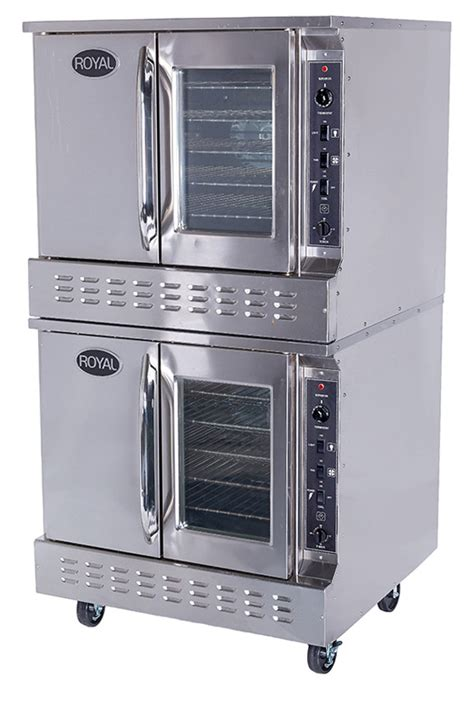 Oven Signora New Royal gas convection ovens bakery depth royal range of