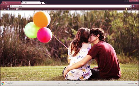 love couple kiss themes mobile9 romantic couple kissing each other chrome theme chromeposta