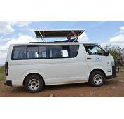 Hire Safari Customized Tour Vans In KenyaToyota