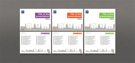 Powerpoint Template Design For London Business School Powerpoint Template Designer