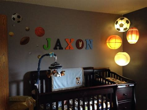 74 Best Sports Theme Nursery Images On Pinterest Sports Themed Nursery Decor