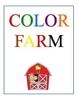 color farm color farm by mcdonald teachers pay teachers