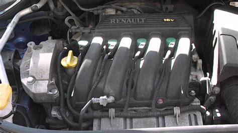 renault megane 2004 mk2 1 4 16v petrol engine code k4j730
