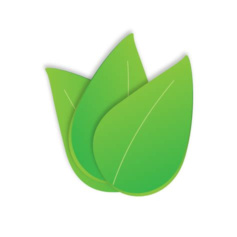 Clipart Leaves Free green leaf vector clipart best