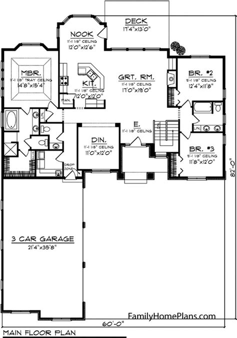 homivo contemporary ranch style homes floor plans ranch ranch style house plans fantastic house plans online
