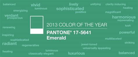 color of the year 2013 graphics emerald pantone color of the year 2013