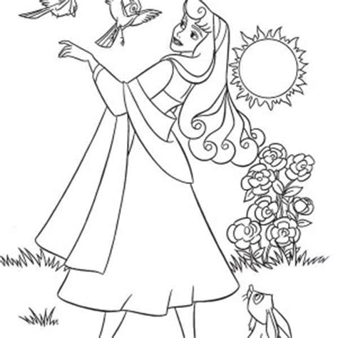 generic princess coloring pages close up sunflower coloring page download print online