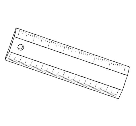 free coloring pages of centimeter ruler colored page ruler painted by ruler