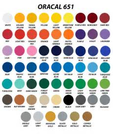 oracal vinyl color chart 20 sheets 12 x 24 oracal 651 gloss finish vinyl