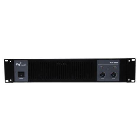 W Audio Xtr 1000 by W Audio Xtr 1000 Lifier 2 X 500w Power