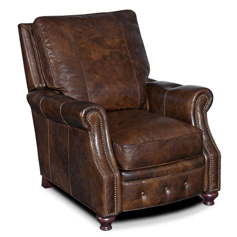 traditional recliners hooker furniture reclining chairs traditional high leg