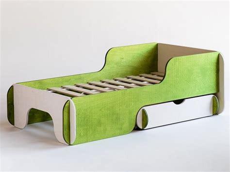 plywood bed plywood storage bed for kids bedroom piku by radis design