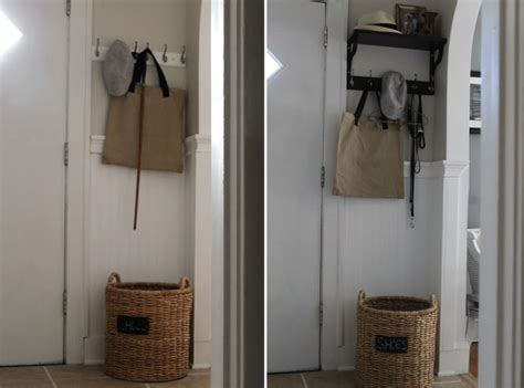 diy entryway organizer hammers and high heels before after photos of my