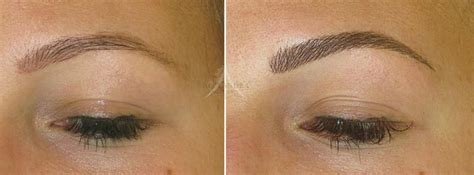 hair stroke eyebrow tattoo cost eyebrow aftercare cost removal makeup