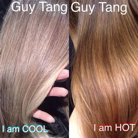 hair color put your picture are you cool or are you hot put your comments below