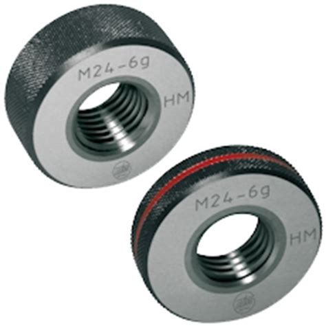 limit thread plug gauges and thread ring gauges