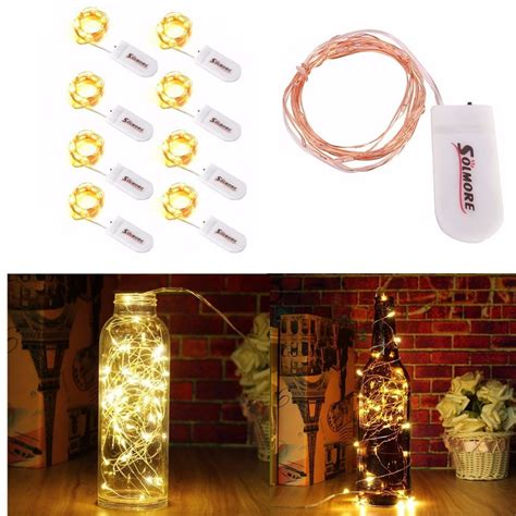 starry string lights battery operated solmore 8 pcs starry string lights