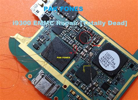 Bor Emmc samsung i9300 totally dead emmc repair done without