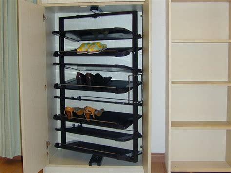 hanging closet shoe organizer all home design ideas rotating hanging closet storage home design ideas